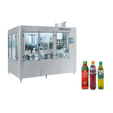 RCGF60-60-15.Juice bottling machine metal cap glass bottle juice filling plant/fresh squeezed juice filling machine (3 in 1)