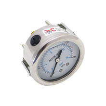Modern design durable ss316 oil filled acetylene cng pressure gauge