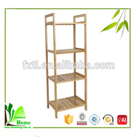 High quality family life use multifunction bamboo vintage kitchen shelf