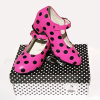 Girls Shoes Flamenco Schoenen Spanish Dance