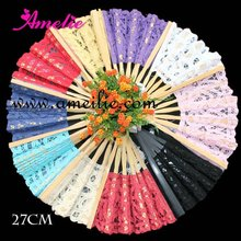 Assorted Colors Ladies Japanese Hand Fans