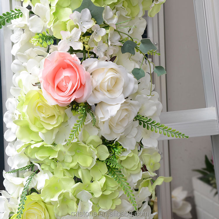 FW01255 Artificial Flower Stage Backdrop for Wedding <strong>Decoration</strong>