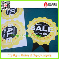 Manufacturer Advertising PET Board Adhesive Graphics