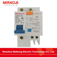 Hot sale 2 pole 32 amp earth leakage circuit breaker