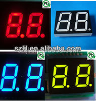 Red color Dual Digits 7 Segment LED Display 0.56 inch