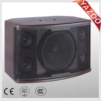 YAZOO 10 inch 280W 4 treble high quality professional karaoke speaker Y-103
