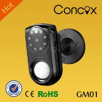 Security Camera GM01 wireless gsm home security burglar sim card alarm/ night vision security alarm system with hidden camera