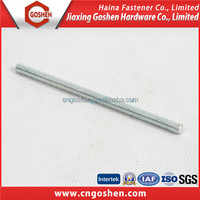 all full threaded rods galvanized zinc plated threaded rod