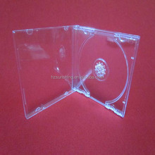 small 5.2mm super clear plastic PP cd box