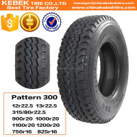 China Radial Truck Tyre With Inner Tube Manufacturer 825R16