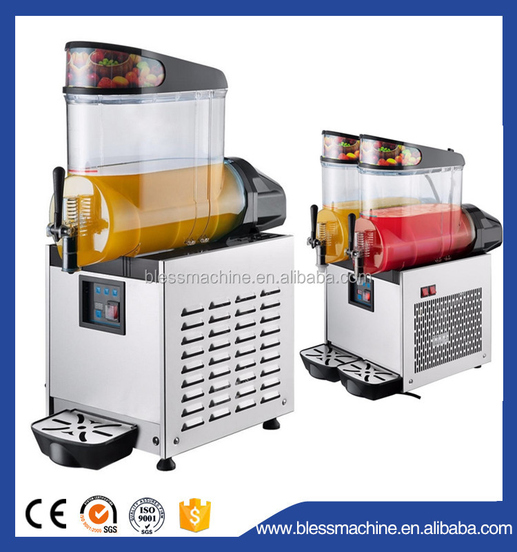 Super performance energy-saving ice cube crusher exhibited at Canton fair