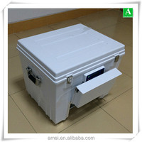 OEM thick ABS vacuum formed white plastic vaccine case