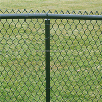 commercial /residential chain link fence top rail/chain link fabric,framework( 20 Years Professional Factory )