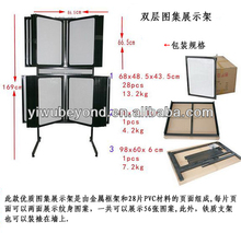 New Tattoo Art Flash Wall Mount Rack 28 Double Panels
