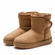 Foreign trade children thickening snow boots winter shoes classic shoes for kids suede warm snow boots