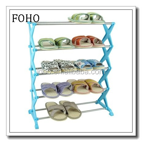 5 tire blue wall mounted enterway creative shoe rack for men FH-SR00855
