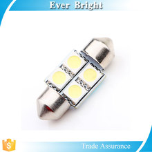Hot sale festoon 5050 4SMD Led atuo lamp reading light high quality 12V led car