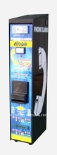 F Wall mounted Button type phone Card vending machine