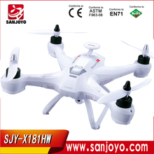High set function drone 6 axis gyro big rc quadrocopter professional brushless motor with hd 2MP camera SJY-X181