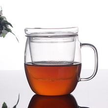pure hand unbreakable glass clear glass tea cups