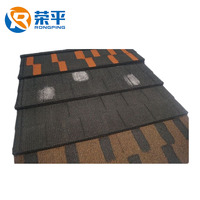 Factory of characteristic metal shingle tile cheap price from Hangzhou China