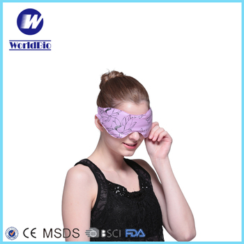 Practical Reusable Hot Cold Microwavable Eye Mask For Therapy