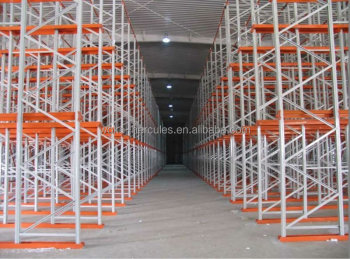 China racking manufacturer steel industrial drive-in rack