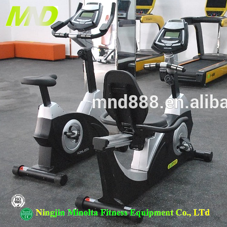 Commercial Gym Equipment High Quality MND Fitness Model Standing Magnetic Bike
