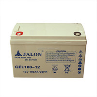 high quality gel 12v 100ah battery for solar panel