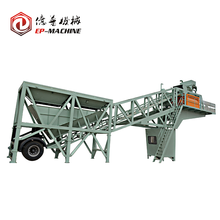 Advanced Electric Control 60m3/h Macon Mobile Concrete Batching Plant