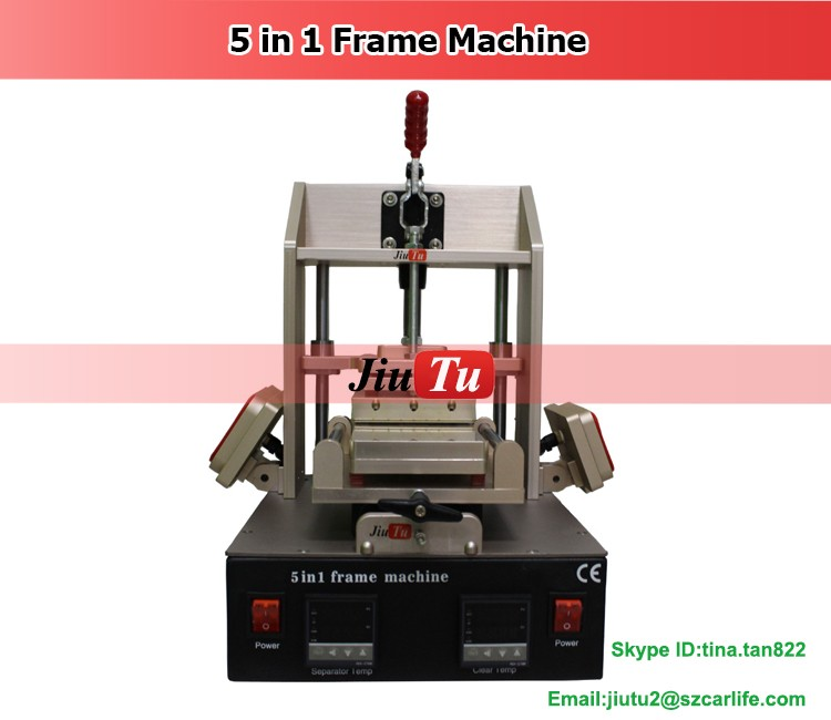 Latest Glue Removing & Frame Laminating & Frame Separator Machine For Smart Phone Touch Screen LCD Frame Laminator Machine