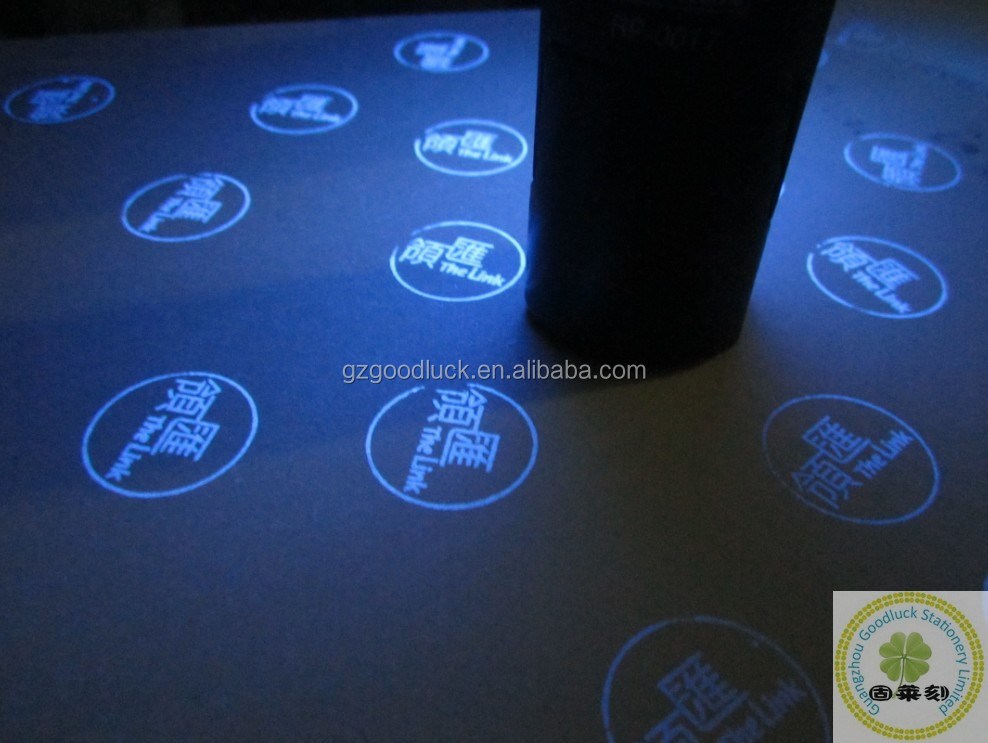 Fluorescent invisible stamp refill ink/High permanent novelty invisible UV ink