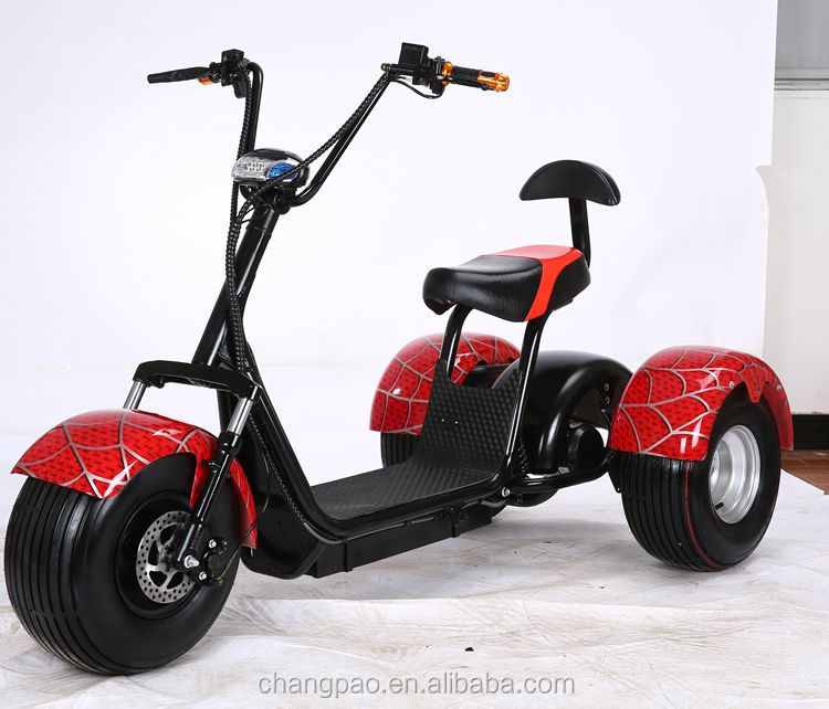 harley citycoco 1500w electric tricycle adults three wheel electric scooter