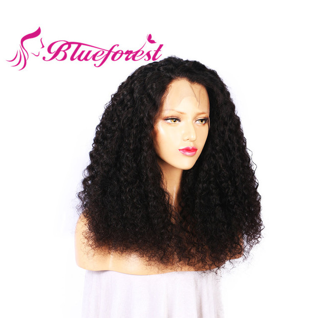 Hot sale kinky curly u part human hair wig , human hair topper wig for men