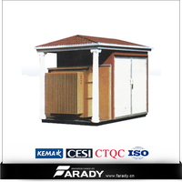container transformer package outdoor kiosk substation