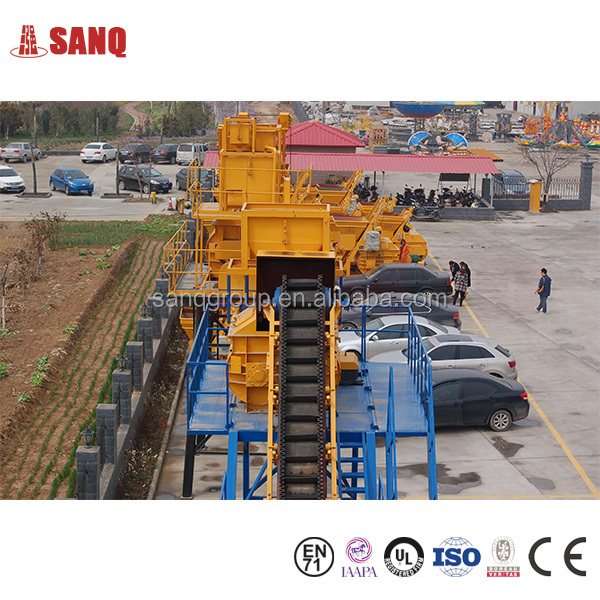 YHZS25 Mobile Concrete Mixing Plant From China Manufacturer