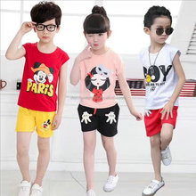 1.25USD Top Cheap Boys And Girls Kids Suits Same Photos Long Sleeve T Shirt/Suit/Clothes (gdzw236)