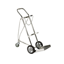 Mute Easy Push And Pull Stair Climber Stainless Steel Tool Trolley Cart