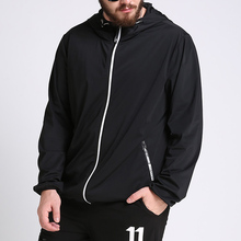 2017 spring new design EU brand plus size mens black cheap sports windbreaker jackets light weight coat for men