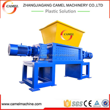 Double Shaft Waste Plastic Scrap Film Recycling PVC PE PP Shredder