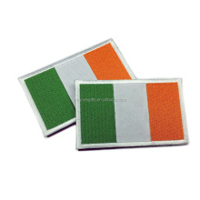 custom HOOk&LOOP Ireland national flag Embroidered patch
