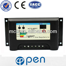 High efficiency HCTS-MPPT series dual battery solar charge controller, 10A 12V/24V