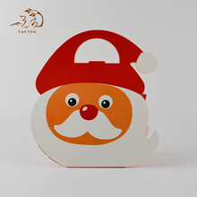 Wholesale Cartoon Christmas Apple Gift Kraft Paper Boxes