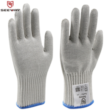 Seeway Personal Protective Equipment of Gloves Men for Hand Protection