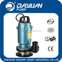 submersible sand dredging dirt pump