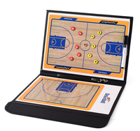 team sports Basketball tactics board folding with magnetic drill command board