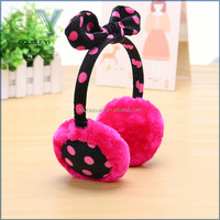 Factory supplier Fashion Winter warm soft earmuffs / earcap