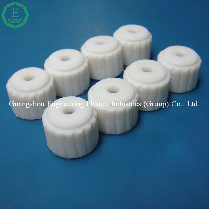 King of plastics F4 plastic small part customized injection molding Teflon PTFE parts