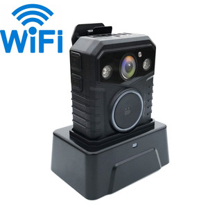 IP67 A12 GPS 32MP WIFI Ambarella A13 Police Worn Body Camera Built-in 3G 4G