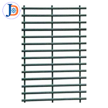 4mm pvc coated 358 no climb fence panels